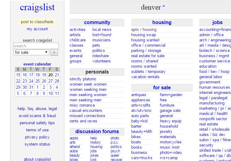 Craigslist Santa Fe Cars >> Denver Appliances Craigslist | All Basketball Scores Info