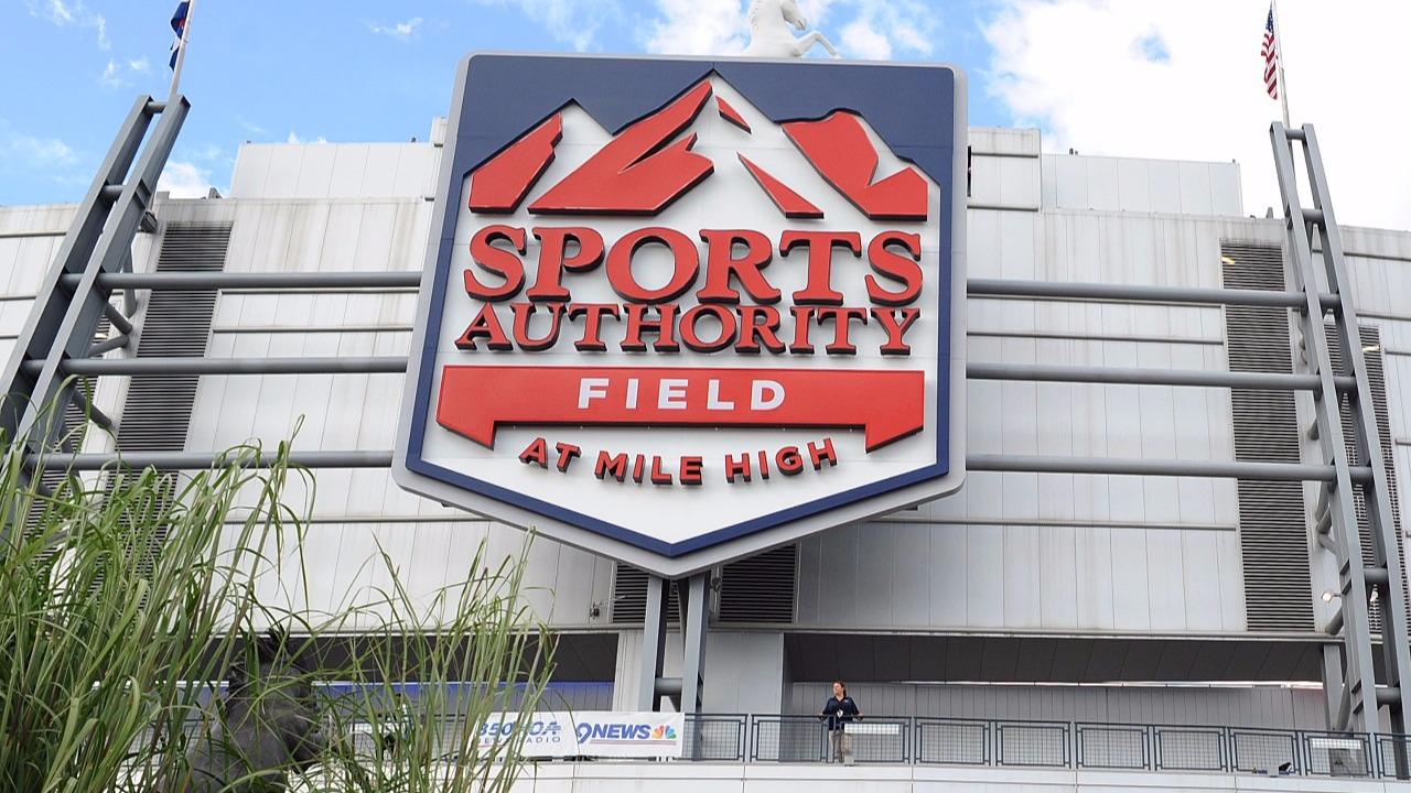 next question why are sports authority signs still on the mile next question why are sports authority signs still on the mile high stadium 9news com