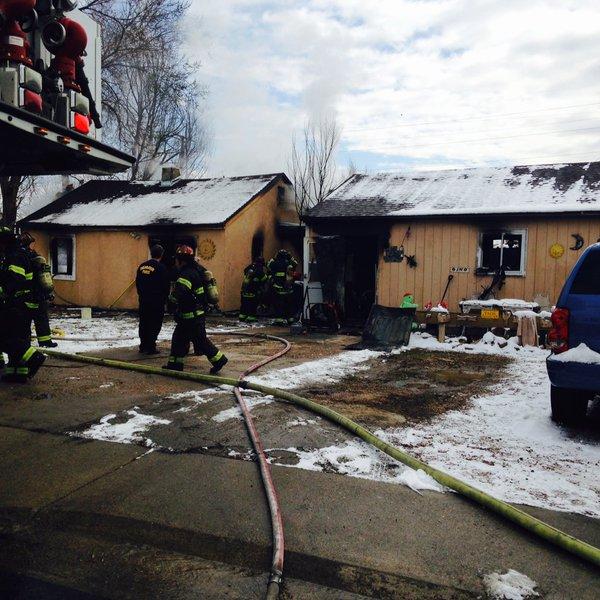 Firefighter Burned In Denver House Fire