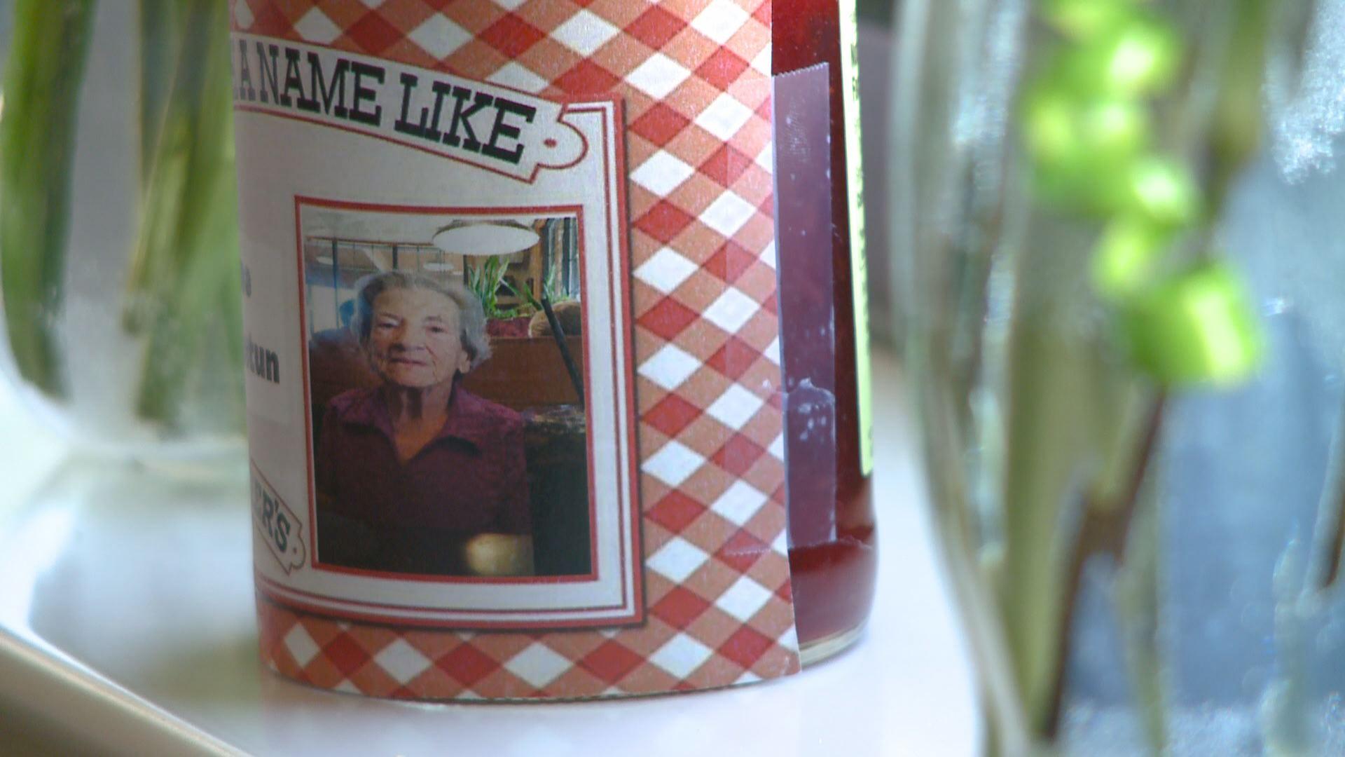96 year old gets her face on smucker 39 s jar. Black Bedroom Furniture Sets. Home Design Ideas