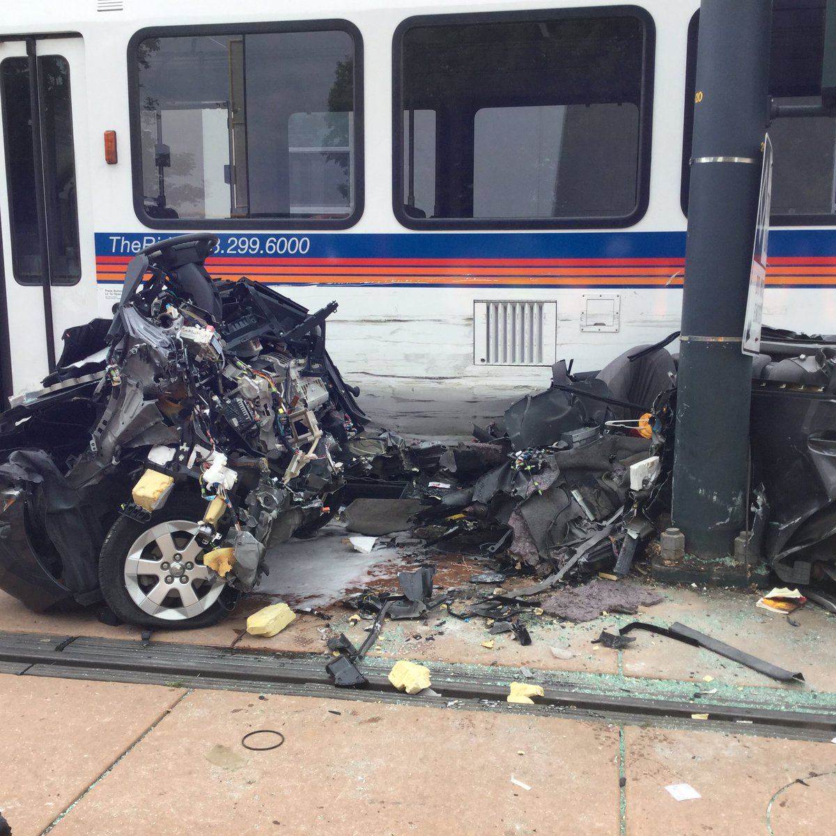 It's Unclear Who Was At Fault For The Light Rail, Prius
