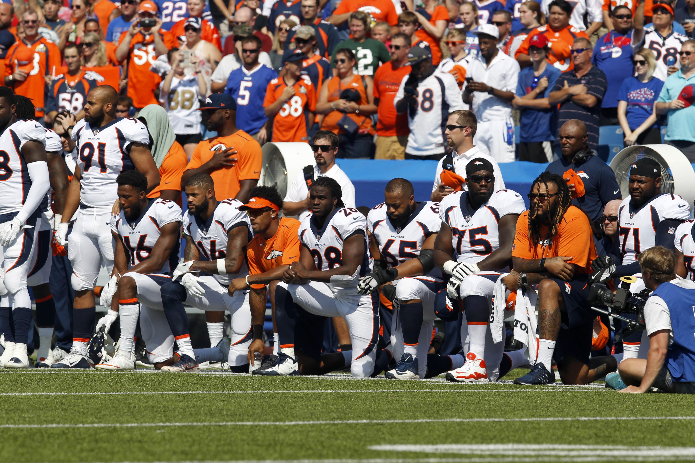 Some broncos kneel during anthem some stand some kneel and some broncos kneel during anthem some stand some kneel and wonder if worth it 9news fandeluxe PDF