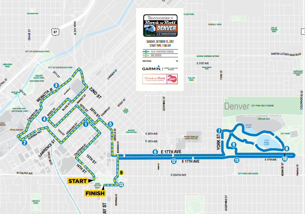 9news Here Are The Road Closures For Rock N' Roll Half: Rock And Roll Las Vegas Course Map At Infoasik.co