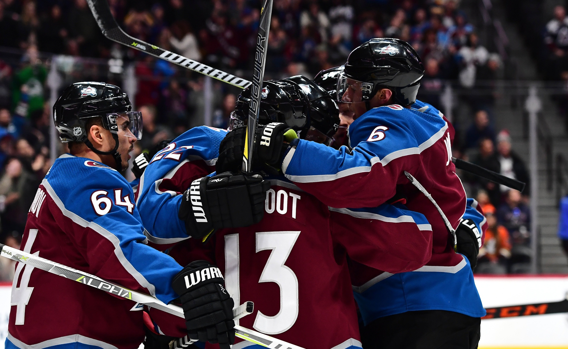 Avalanche streak extended to seven games after 3-1 win against Ducks