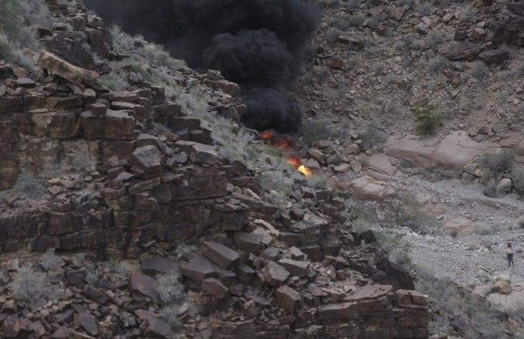 Fatal Grand Canyon helicopter crash involved post-crash fire